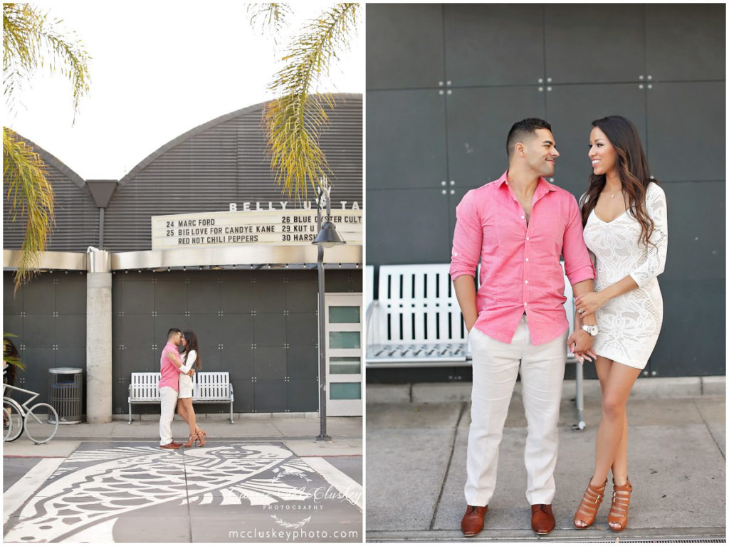 Solana Beach Engagement bride