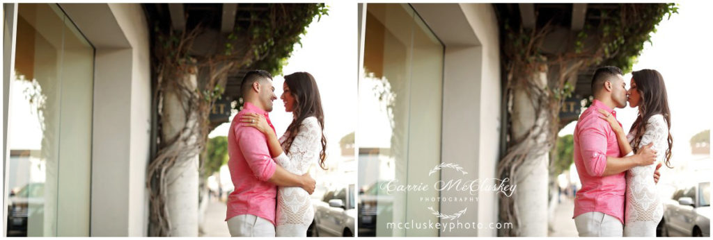 Solana Beach Engagement photography by Carrie McCluskey