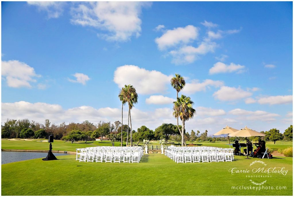 Fairbanks Ranch Country Club Wedding Ceremony